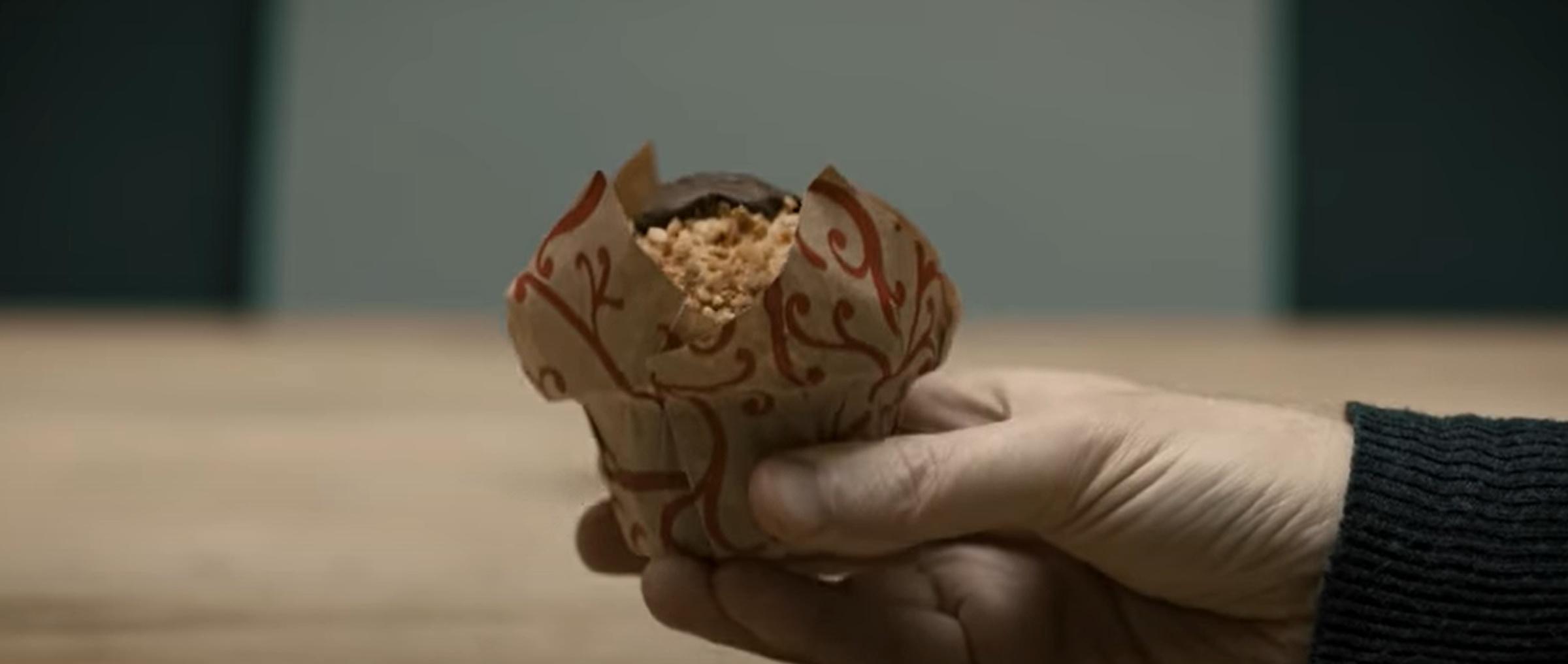 Je suis un muffin fait à partir de produits naturels sans rien de chimique